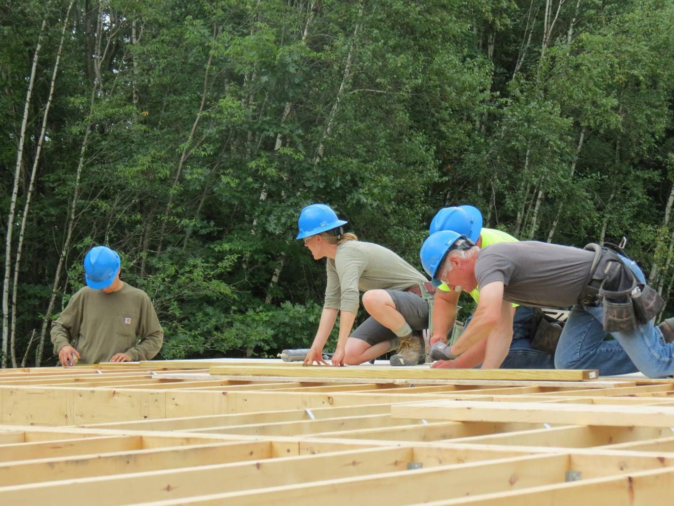 habitat for humanity volunteers commitment to non-profits