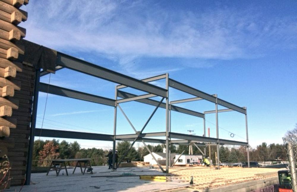 North Branch Construction Completes Steel Erection at Shooter's Outpost in Hooksett