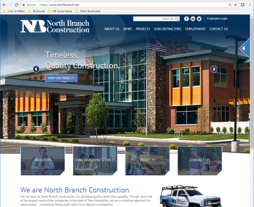 North Branch Construction News