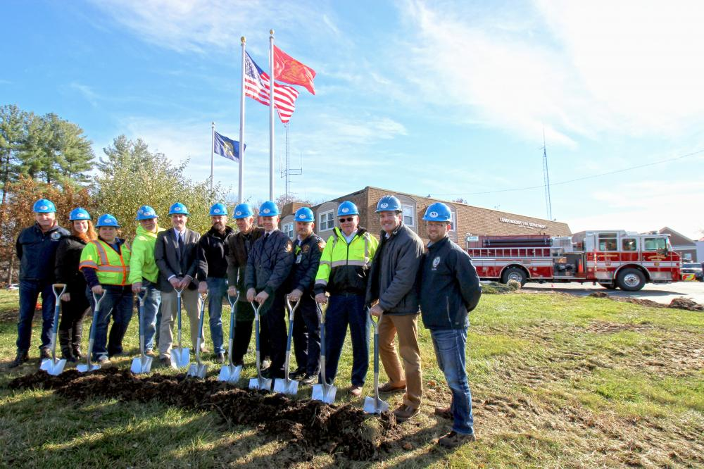 North Branch Construction Celebrates Groundbreaking at Londonderry Fire Station