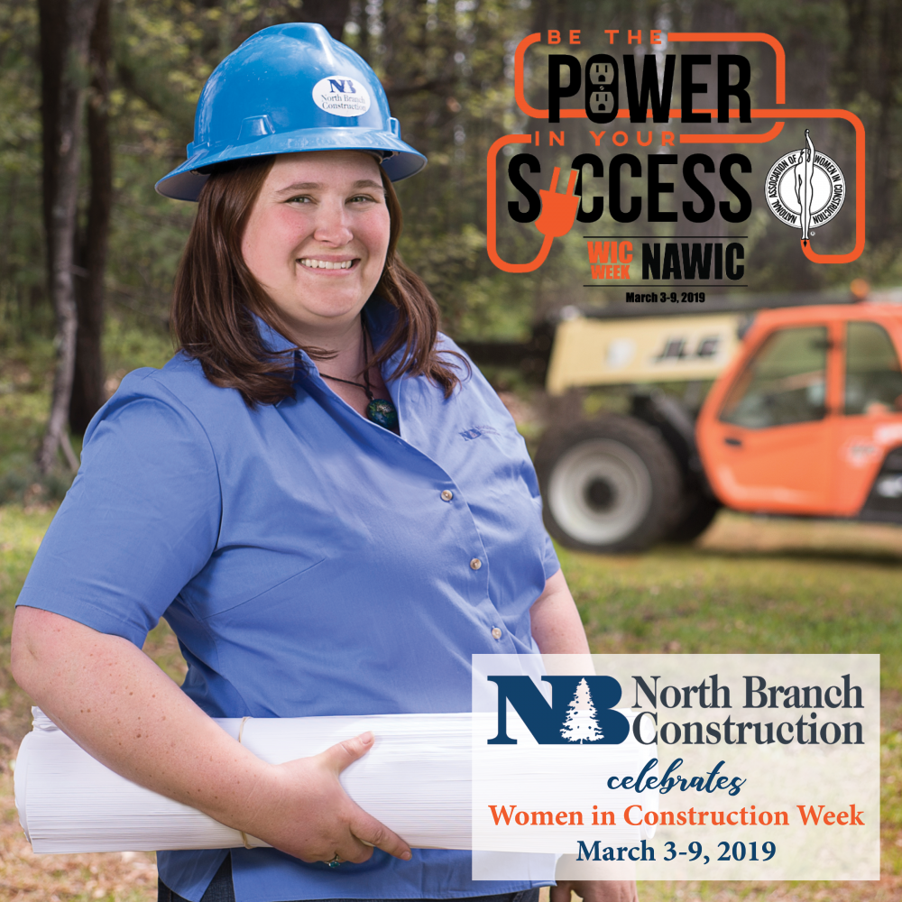 North Branch Construction Celebrates Melanie Smith during Women in Construction Week