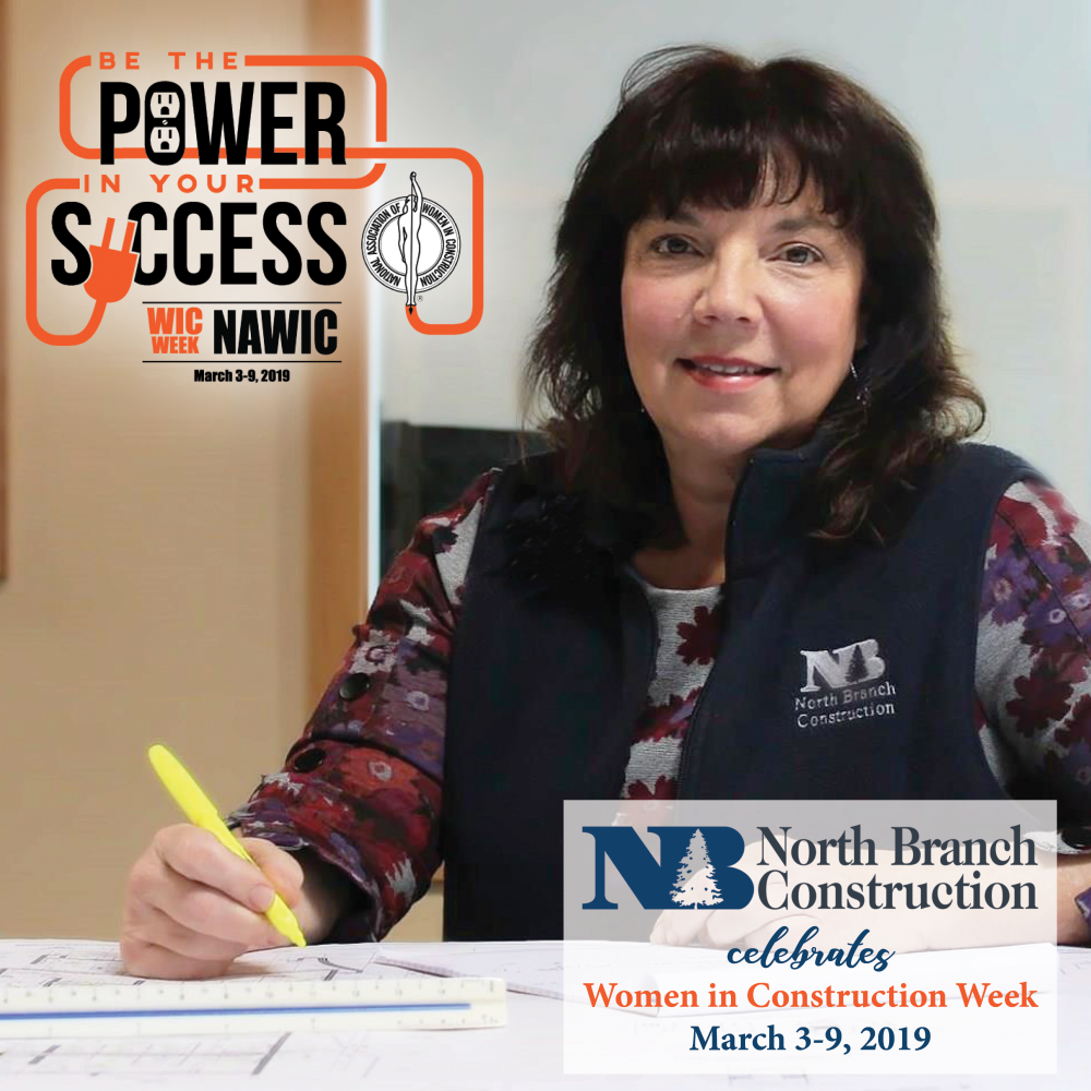 North Branch Construction Celebrates Carol Card during Women in Construction Week