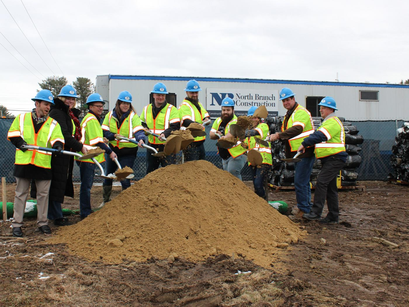 North Branch Construction Celebrates Groundbreaking at White Birch Armory in Dover, NH