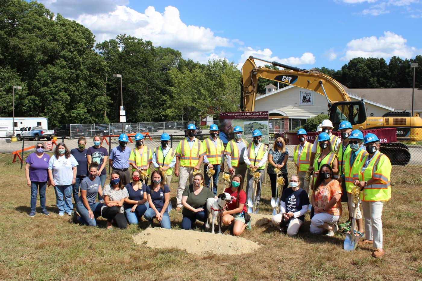 New Hampshire SPCA Celebrates Groundbreaking