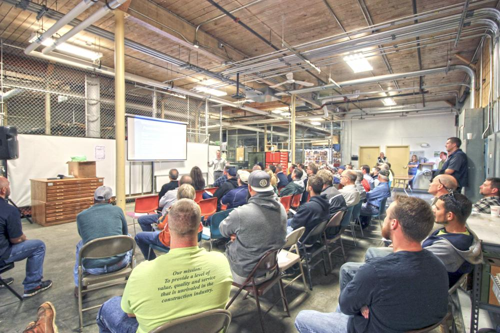 North Branch Construction Hosts OSHA for National Safety Stand-Down Week