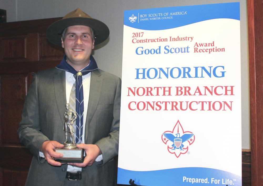 North Branch Construction Receives Good Scout Award