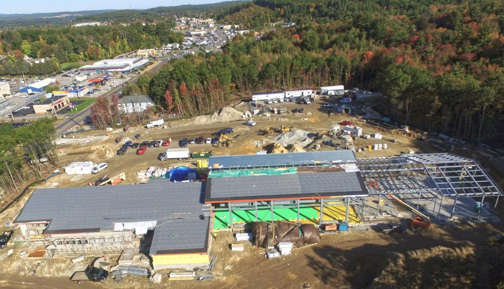 North Branch Construction Erects Steel for National Guard Field Maintenance Shop in Hooksett