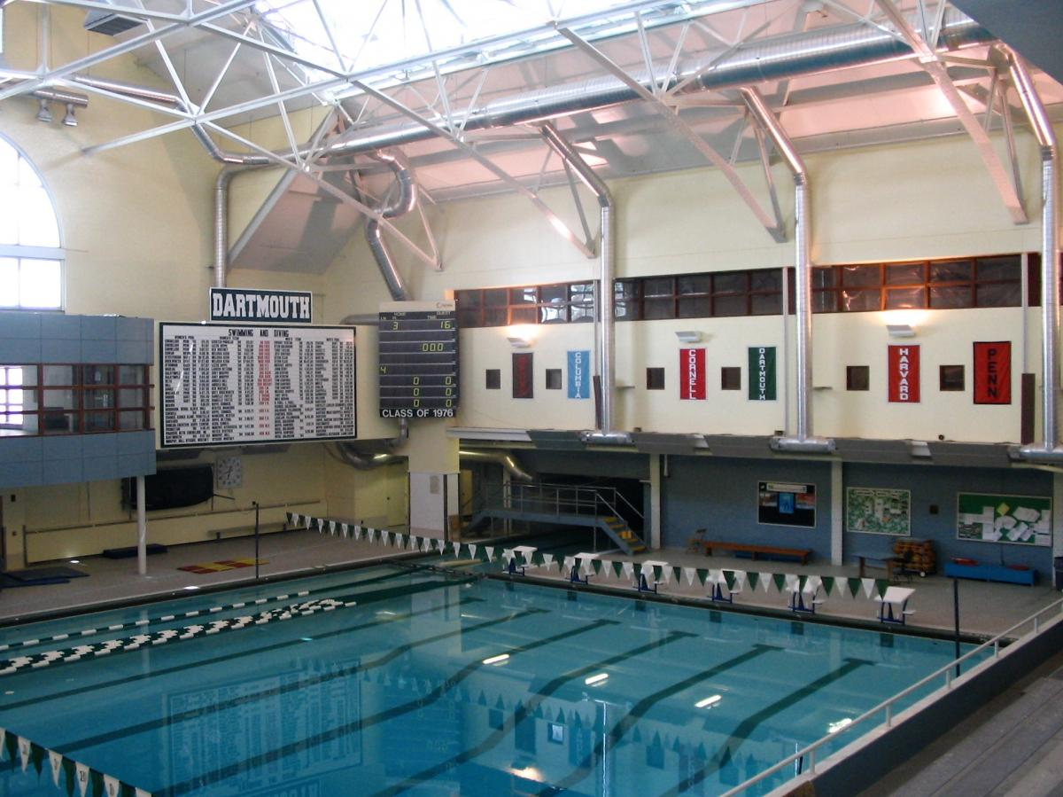 Dartmouth alumni gym pool hours for Dartmouth swimming pool opening times