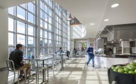 UNH Holloway Commons Dining Hall