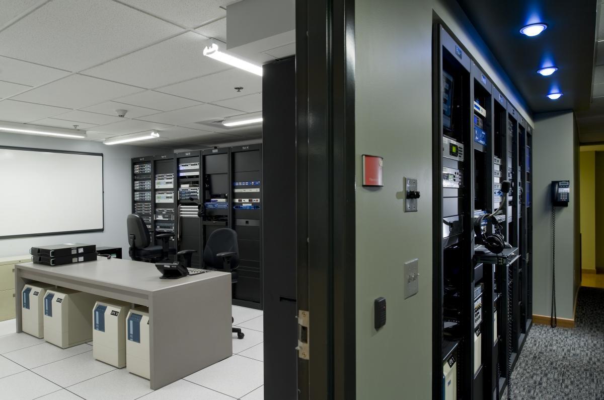 NHPR Broadcast Studio